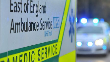 Ambulance staff were called to the River Great Ouse at Huntingdon.