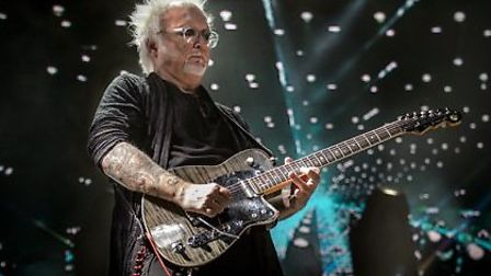 Reeves Gabrels will play The Horn in St Albans [Picture: Mauro Melis]
