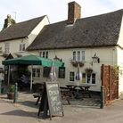 Waggon and Horses pub in Steeple Morden