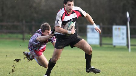 Adam Stirling, pictured last year, scored the winning try for Harpenden. Picture: Danny loo