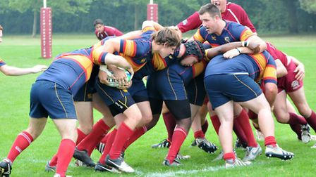 Action from Tabard's loss to Hitchin.