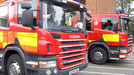 Fire crews spent hours to control the lorry fire.