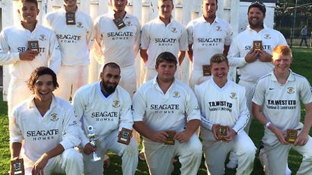 Ramsey CC winners of the Smith Barry Cup final 2014