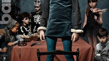 Local St Albans actor Ivan Raath, seen dressed as a skeleton in promotional material for Hamlet, sta