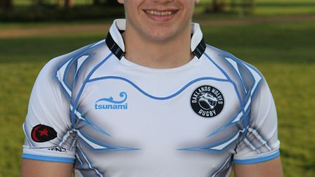 George Perkins, formerly of Oaklands College, scored twice for OAs against Tynedale.