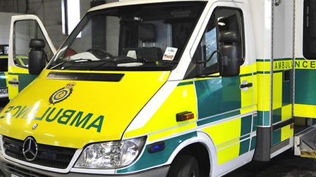 Ambulance crew are called to a man who trapped his hand in a lawn mower