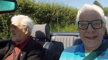 Bernard Cribbins and Barry Cryer have appeared on Celebrity Antiques Road Trip