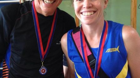 Graham Foster and Wendy Webster excelled in the South of England Fell Running Championships.