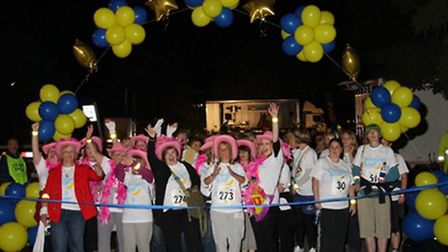 This year's Starlight Walk is taking place on Saturday