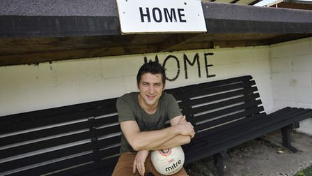 The new Manager at St Ives Town, Ricky Marheineke.
