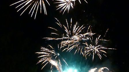 There are a number of fireworks displays taking place with a variety of attractions.