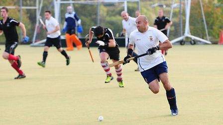 Harpenden Hockey Club captain Russell Timms. Picture: Alistair Barrett