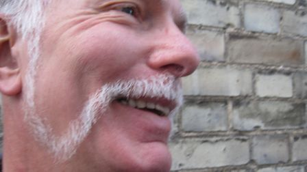 Chris Lee's Movember attempt last year.