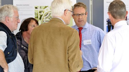 The designs at the exhibition will form the basis of a planning application later this year.