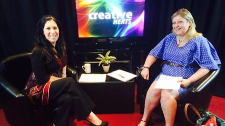 Presenter Ronit Gerber and guest Susan Heaton (episode yet to air).