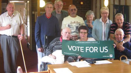 Royston Speak Out Stroke Club is urging the public to vote for them