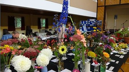Fowlmere and Thriplow Gardening Club annual show.