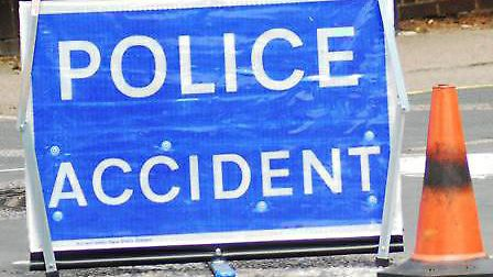 Police were called to Houghton Road (A1123) this afternoon.