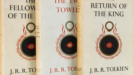 Tolkien trilogy being auctioned on behalf of Oxfam, Huntingdon