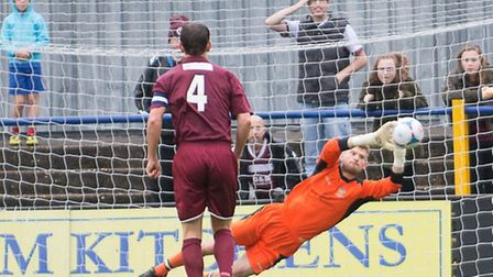 Welch saves a penalty
