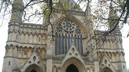 One of the cultural highlights of St Albans - our cathedral