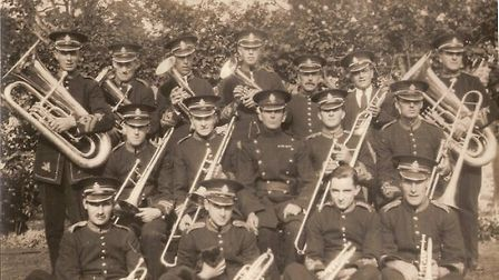 Royston Town Band in 1932.