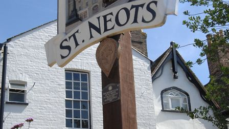 A St Neots man wants to hear suggestions for cycle parking locations.