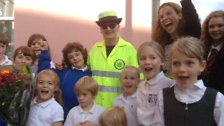 Sue Lee has retired after 20 years of helping children across the road as a lollipop lady in Bassing
