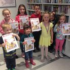 Youngsters were presented with certificates and medals by Councillor Jose Hales at Melbourn Library