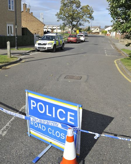 Roads were closed as police investigated the death of Littleport man, James Harrison.