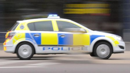 Emergency services were called to the A141 after a collision between two cars.
