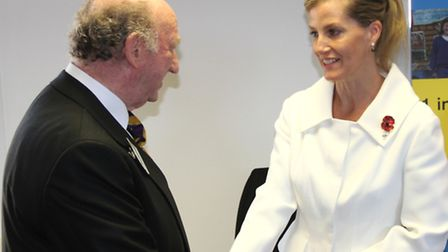 Geoffrey Golding meets the Countess of Wessex