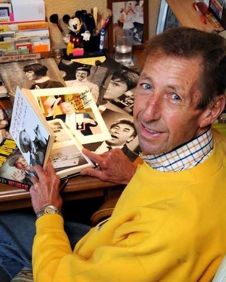 Philip Day, Norman Wisdom's publicist for 40 years.