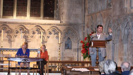 St Albans Literary Festival Tudor Night with Conn Iggulden and Leanda de Lisle, presented by Martine