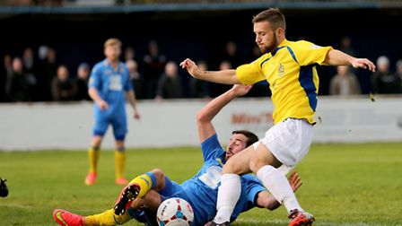 Charlie Smith draw a fine challenge. Picture: Leigh Page