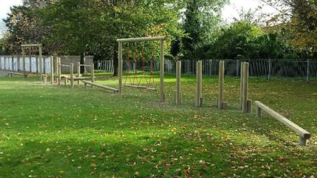 A new Trim Trail at York Way play area in Royston has been installed.