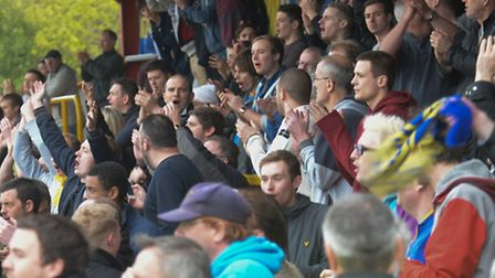 James Gray wants the fans back on Saturday. Picture: Bob Walkley