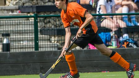 Adam Jones scored for the men's 1sts in a 5-4 win at Dereham. Picture: Chris Hobson
