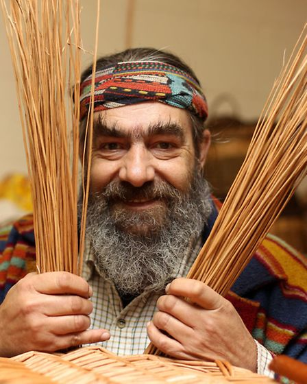 Roger Fowle is passionate about keeping the ancient craft of willow weaving alive.