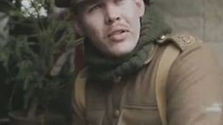 Dan Hill, project co-ordinator for Herts at War, speaking about the Sainsbury's Christmas advert.