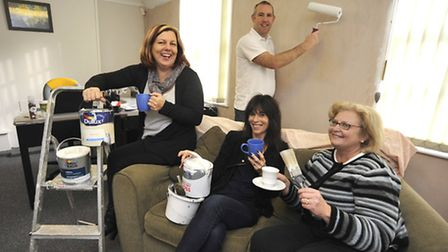 Cornerstone, in Huntingdon, have won the DIY SOS competition, Scott Spence from SJS Property Service