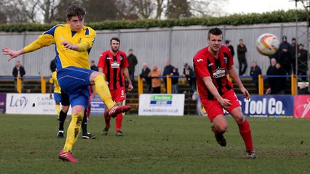 Elliot Bailey has joined London Colney on loan. Picture: Leigh Page