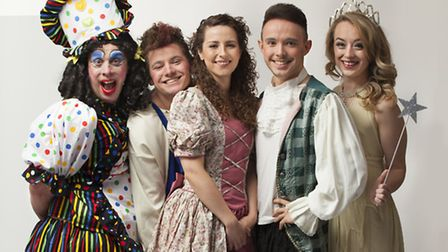 The cast are getting ready for a series of shows in the run-up to Christmas.