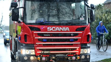 The crews put out two car fires in Huntingdonshire at the weekend.