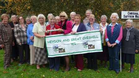 Heydon and Great Chishill WI 60th anniversary.