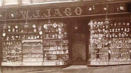 The Holywell Hill store when it opened in the mid 1700s