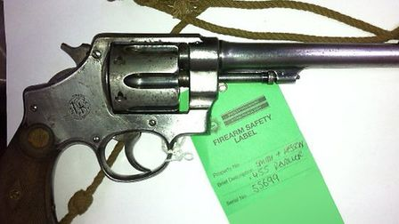One of the many weapons handed in to Herts Police during a recent amnesty