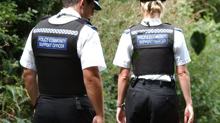 A man was arrested after being spotted in St Albans on Saturday (22)