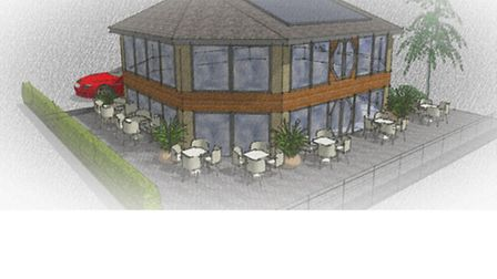 How the Octagon in St Ives could look if plans - and a licence - are agreed.