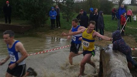 Action from twotow of the Chiltern Cross Country League